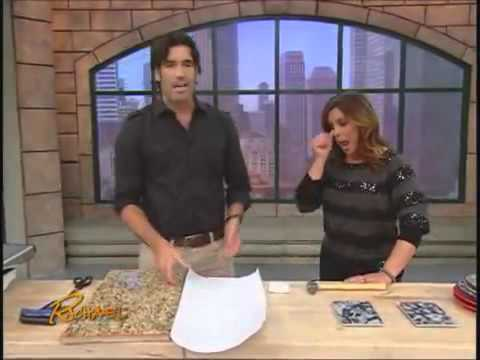 CONTACT PAPER ?  NO!!!  EZFaux Decor LLC Featured on The Rachael Ray Show