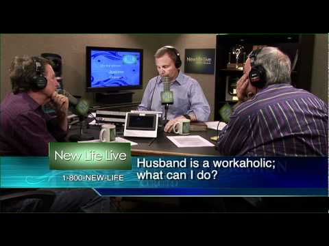 How can I be a support to my workaholic husband?