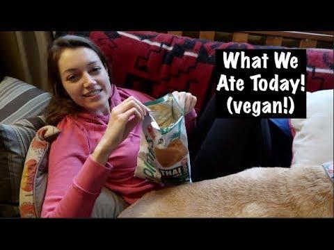 What We Ate Today! (vegan!)