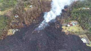 Aftermath in Leilani 5-11-2018