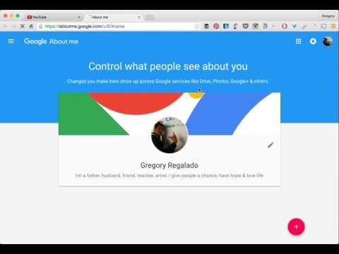 Google Change Display Name