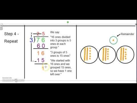 Division in Singapore Math