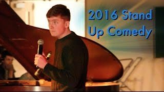 FUNNY Stand Up Comedy 2016 | 17 YEAR OLD COMEDIAN 🇨🇦