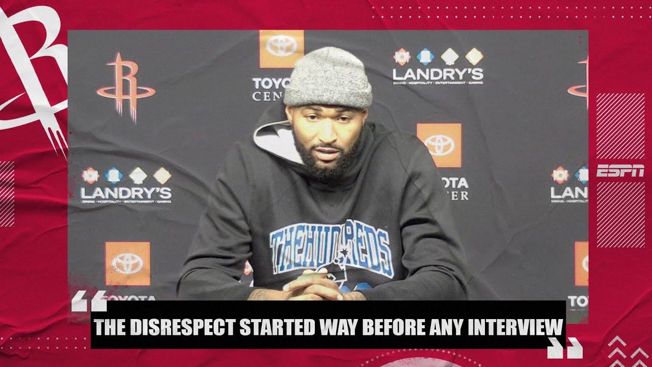DeMarcus Cousins calls James Harden's comments 'disrespectful' | NBA on ESPN