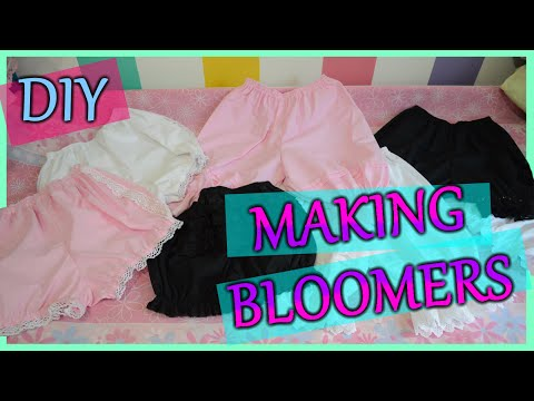 DIY: Making Bloomers | MeLikesTea