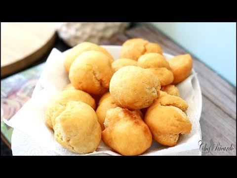 How To Make Jamaican Fried Dumpling | Recipes By Chef Ricardo