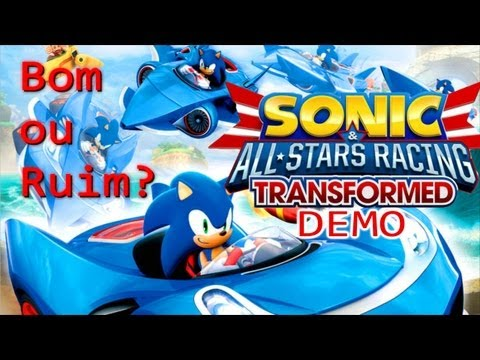 Sonic & All-Stars Racing Transformed [DEMO PS3]