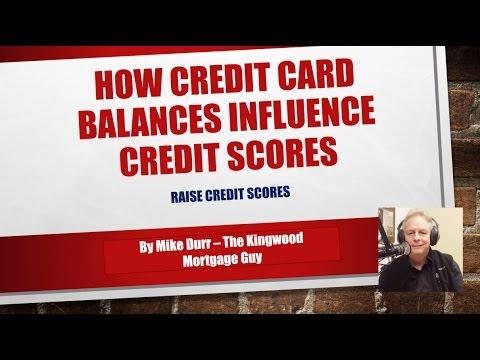 How Credit Card Balances influence Credit Scoring| Raise Credit Score