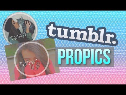 Tumblr Profile Picture Tutorial