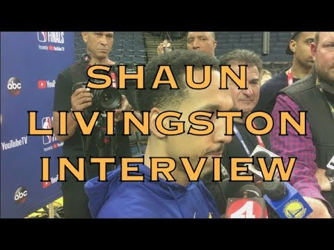 Partial SHAUN LIVINGSTON interview from 2018 NBA Finals Media Day at Oracle Arena