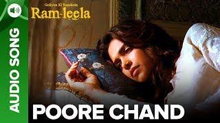 Poore Chaand - Full Audio Song | Deepika Padukone & Ranveer Singh