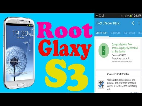 How to Root Glaxy S3 i9300 Very Easy   Root android using Odin   Cf Auto Root  