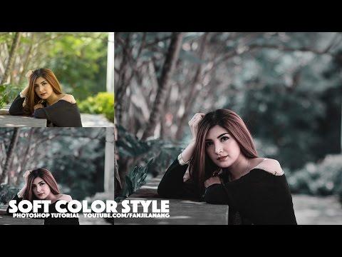 Photoshop Tutorial Soft Color Tone | Vintage Style