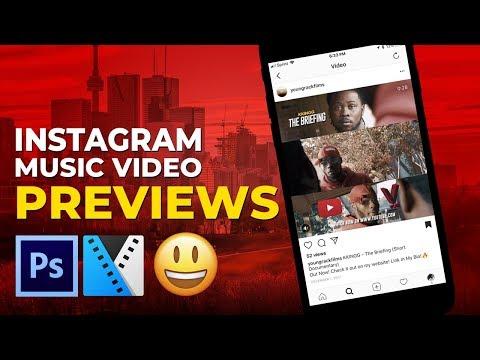 🔥 How To EASILY Make MUSIC VIDEO Instagram Previews LIKE WORLDSTAR (EASY!) 😁