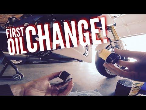 Honda Grom First Oil Change