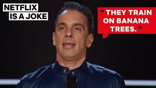 Sebastian Maniscalco Doesn't Wanna Fight an MMA Guy | Netflix Is A Joke