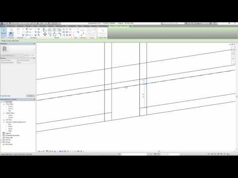 Revit door in a curtain wall