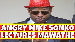Download Angry Mike Sonko Lectures Julius Mawathe like a child Video