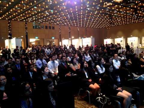 Timelapse of CPA Australia Career Expo 2014 held in Sydney