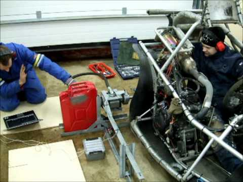 Home-made, low cost engine dyno