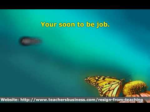 Resigning From A Teaching Position