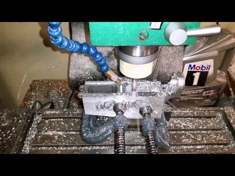 Finishing an AR lower with a benchtop CNC