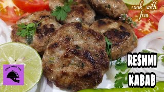 Reshmi Kabab recipe | Mazedar Aur Aasaan Kababs | Easy Reshmi Kababs | Cook With Fem