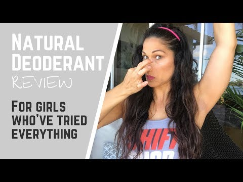 Schmidts Natural Deodorant Review || This stuff works but.....