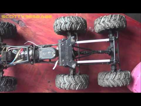 RC TIPS & TRICKS. How to Make a Double Drive Axle - 6x6 CONVERSION