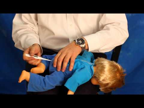Fever: Taking an accurate rectal temperature in your baby