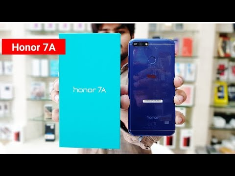 Honor 7A Unboxing & First impressions !