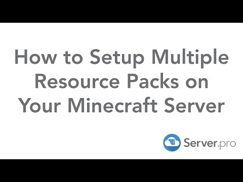 How to Setup Multiple Resource Packs on Your Minecraft Server - Server.pro