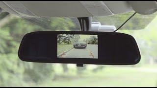 """Gator 4.3"""" Rear View Mirror Mounted Reversing Camera"""