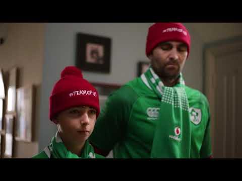 First Rugby Match | Vodafone Ireland