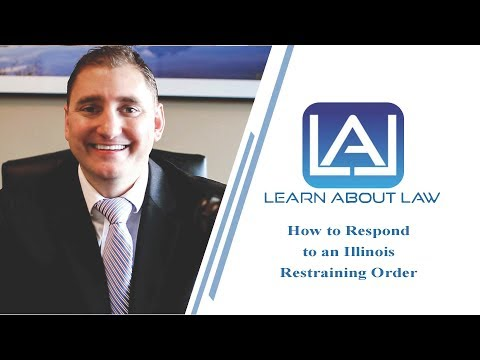 How to Respond to a Restraining Order |Illinois Orders of Protection