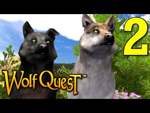 WolfQuest - Being a Good Parent, Manly Group Let's Play Pt.2