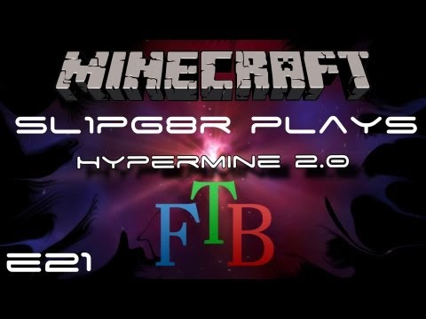 Hypermine 2.0 - FTB - Ep 21 - Automated Bee Analyzer using ME ( Feed The Beast )