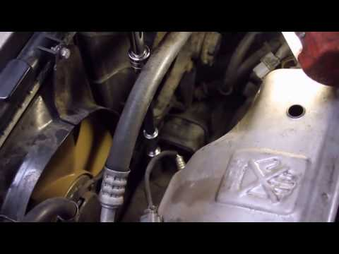 Front Motor Mount Replacement - Accord