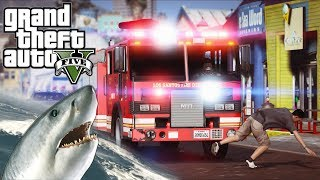 GTA 5 - LSPDFR Ep194 - Helicopter SWAT Unit Fights