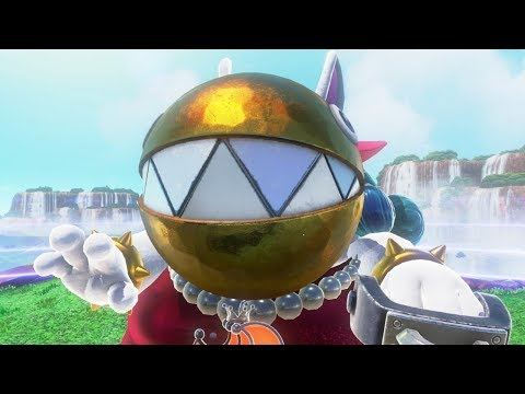 Super Mario Odyssey - All Boss Knockout Animations