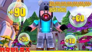 THIS VIDEO TOOK 24 HOURS + 5000 ROBUX!! | ROBLOX SHOUTING SIMULATOR