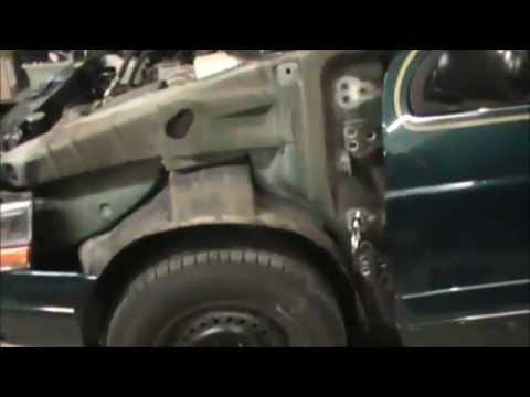 Repair Sprung Car Door Hinges