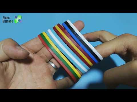 silicone wristband reviews / bracelets silicone / silicone wristband trend