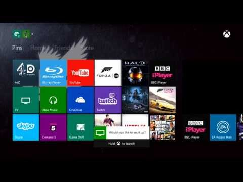 Setting up the Xbox One TV Tuner