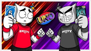 This is the EVIL version of UNO (UNO Funny Moments)