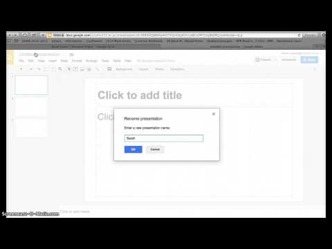 Creating Note Cards on Google Slides