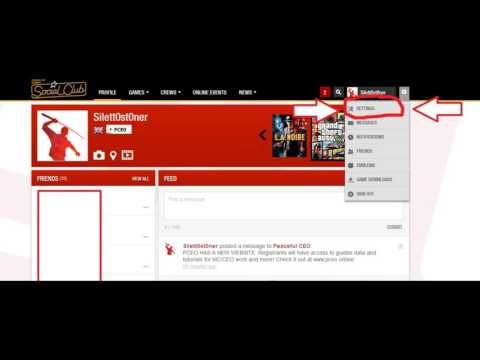 Making Your Social Club Profile / GT Visibility Public