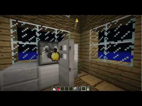 How To Make A Working Fridge In Minecraft!?