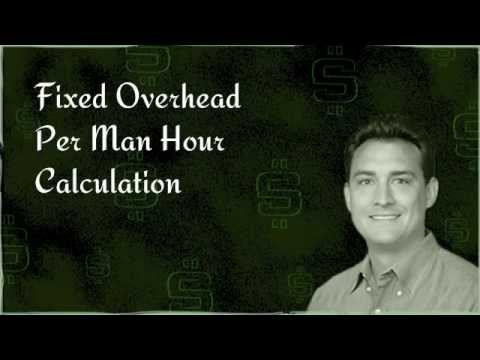 Fixed Overhead Per Man Hour Calculation Explained