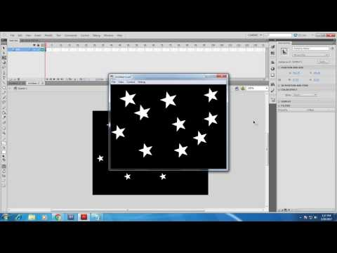 Movie Clip In flash Animation tutorial.  (For Beginners )